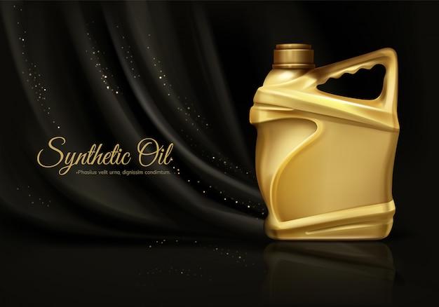 Synthetisches luxus-motorenöl Kostenlosen Vektoren