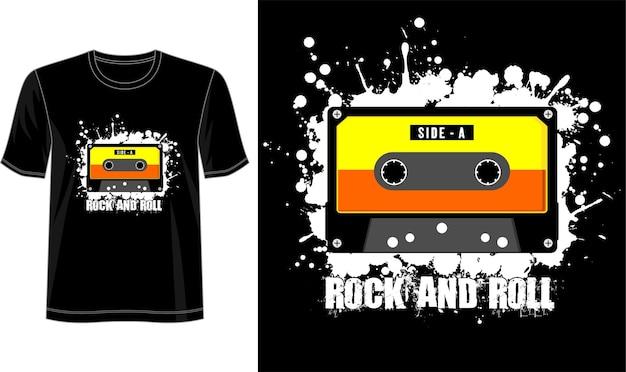T-shirt design-vorlage Premium Vektoren