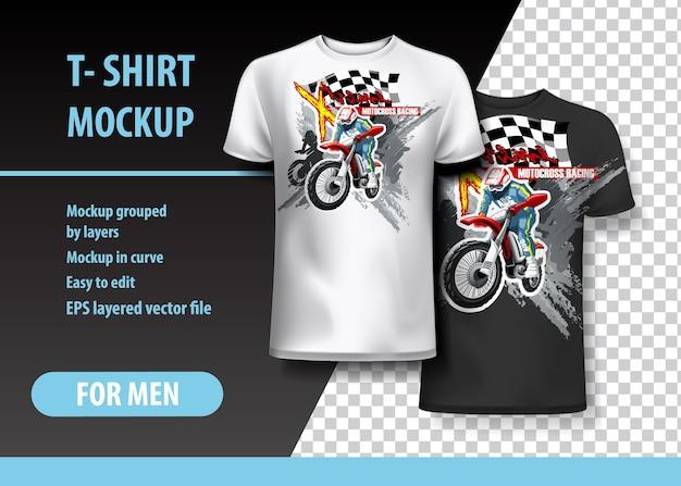 T-Shirt-Vorlage | Download der Premium Vektor