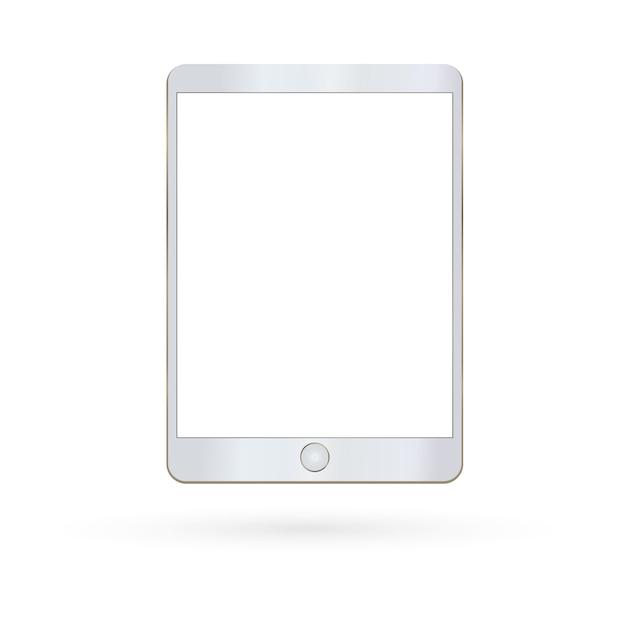 Tablette isoliert Premium Vektoren