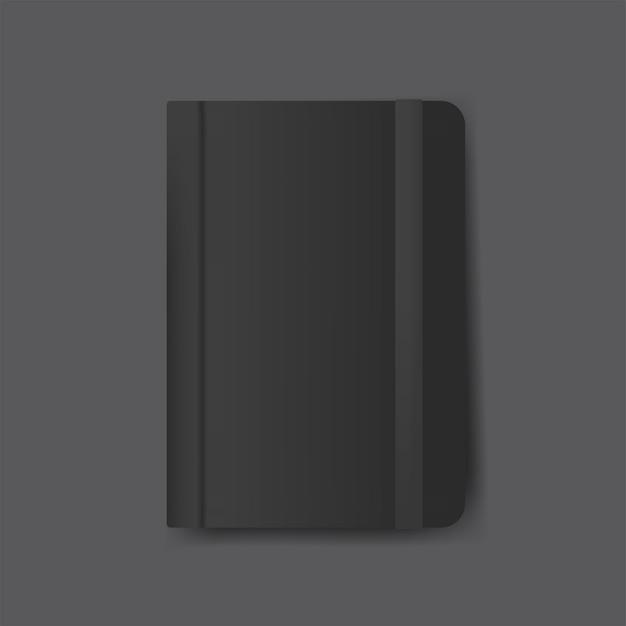 Tagebuchabdeckungsdesign-modellvektor Kostenlosen Vektoren