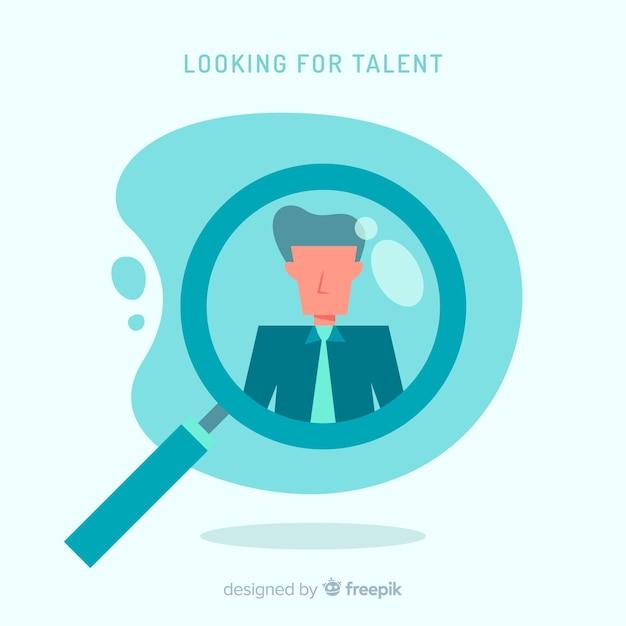 Talent suchen Kostenlosen Vektoren