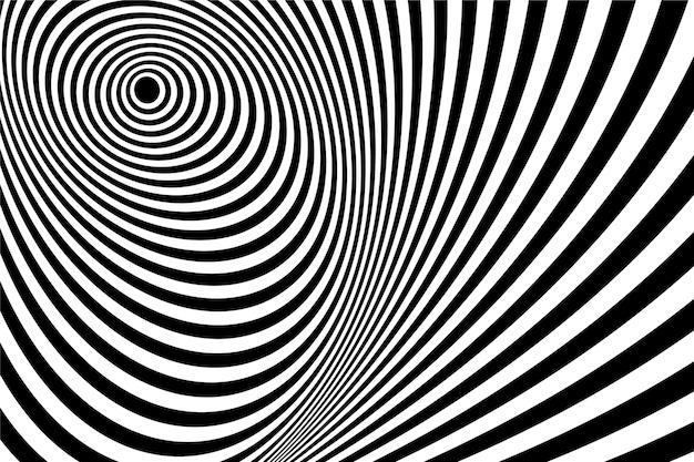 Tapete psychedelische optische täuschung thema Kostenlosen Vektoren