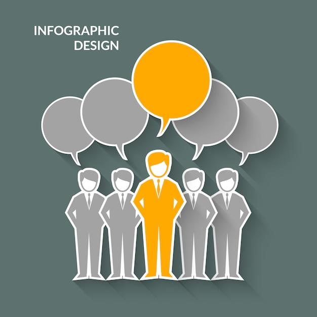 Teamwork-konzept-illustration Premium Vektoren