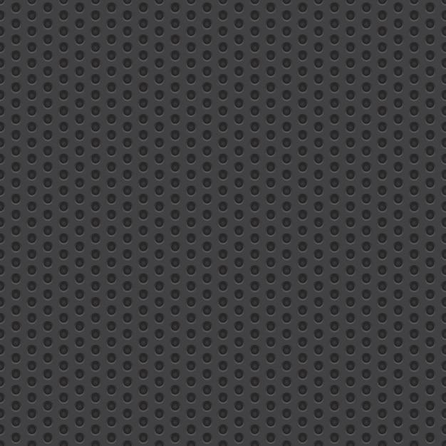 Technologie-perforierter materieller vektor-nahtloser hintergrund Premium Vektoren