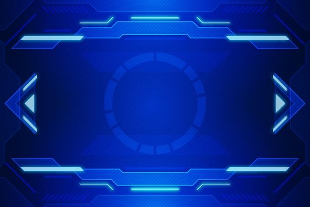 Technologie wallpaper Premium Vektoren
