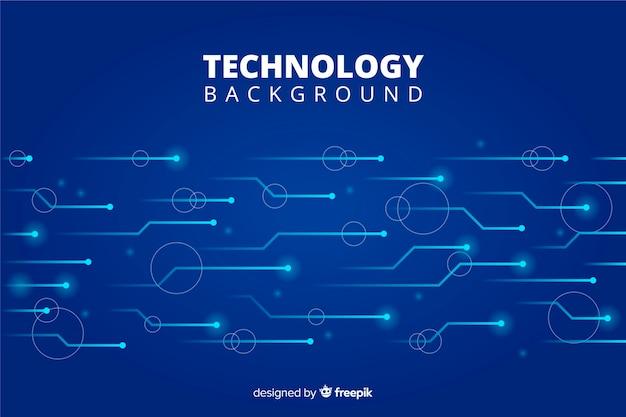 Technologischer hintergrund Kostenlosen Vektoren