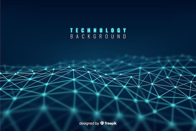 Technologischer hintergrund Premium Vektoren