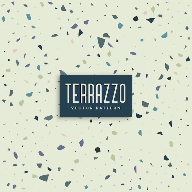 Terrazzo-abstraktes musterhintergrunddesign Kostenlosen Vektoren