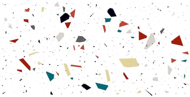 Terrazzo muster textur bodenfliesen hintergrund design Kostenlosen Vektoren