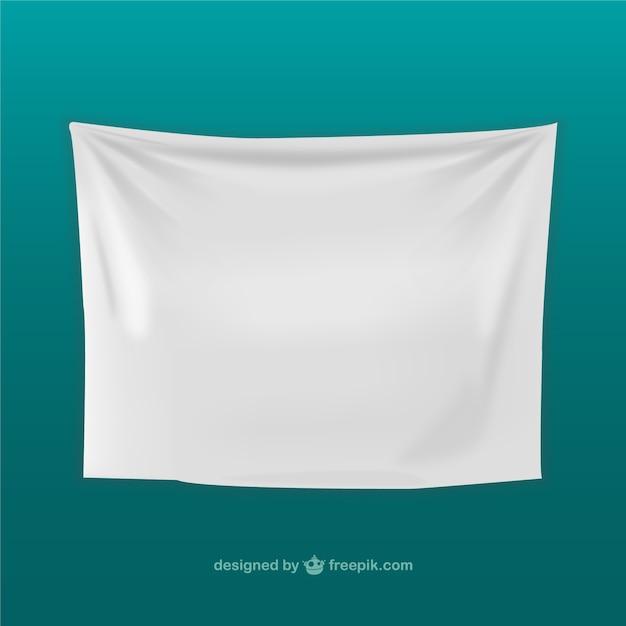 Textil-Banner-Vorlage | Download der kostenlosen Vektor