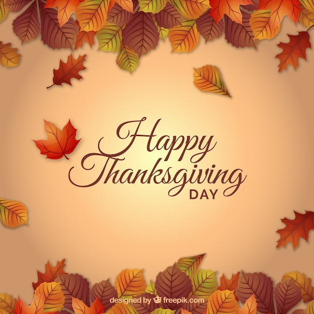 Thanksgiving-hintergrund Kostenlosen Vektoren