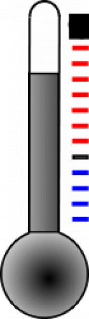 Thermometer Kostenlosen Vektoren