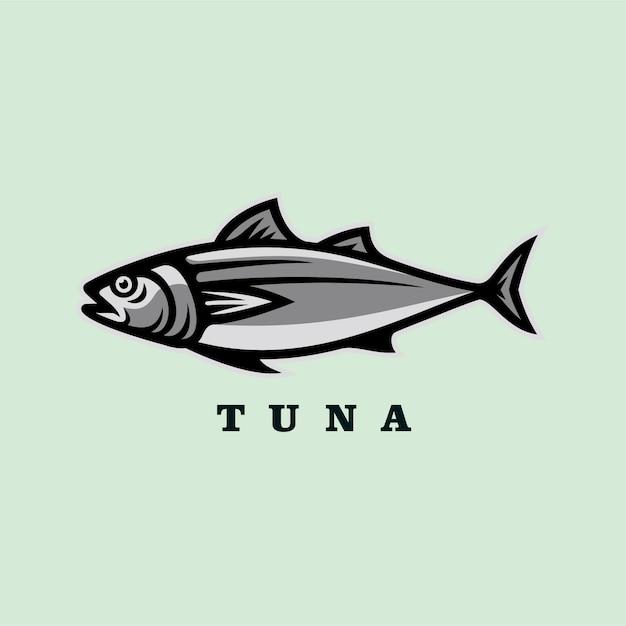 Thunfisch-vektor-illustration Premium Vektoren