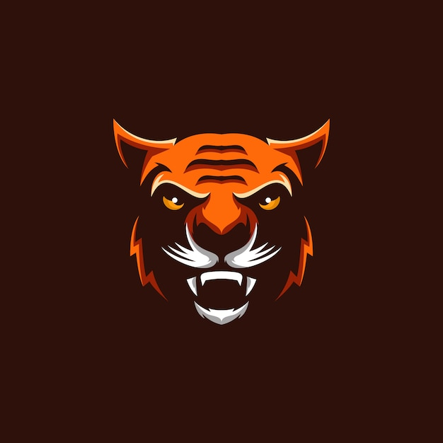 Tiger-logo Premium Vektoren