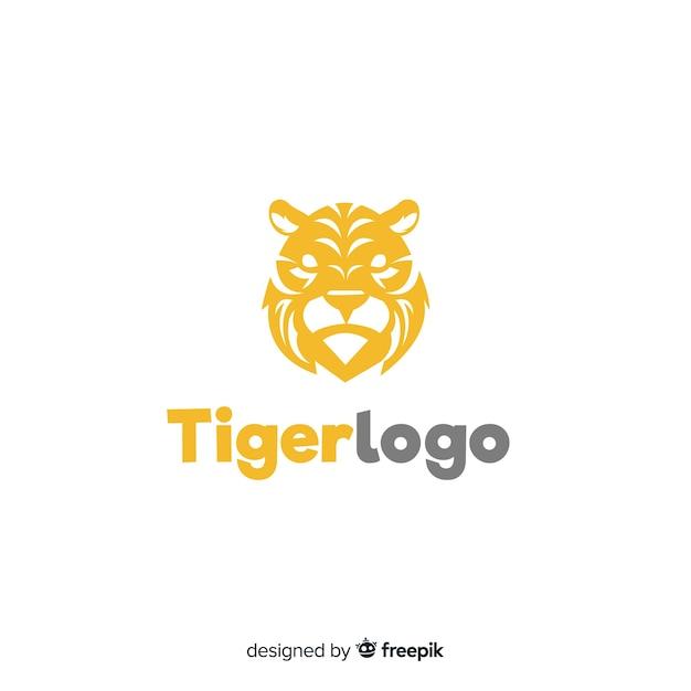 Tiger-Logo Kostenlose Vektoren
