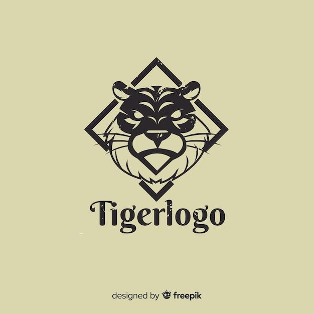Tiger-logo Kostenlosen Vektoren