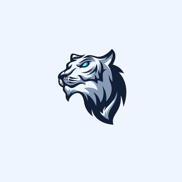 Tiger sport-logo Premium Vektoren