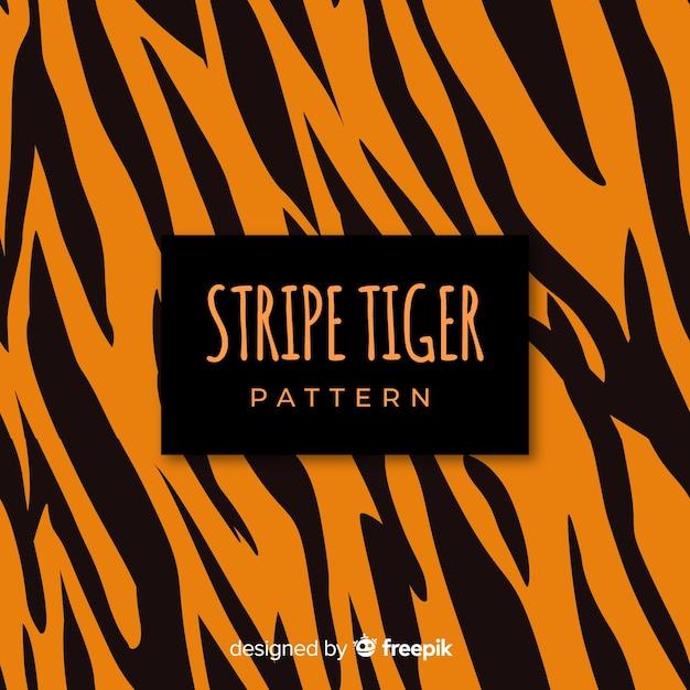 Tiger streift hintergrund Kostenlosen Vektoren