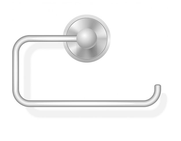 Toilettenpapierhalter-vektorillustration Premium Vektoren