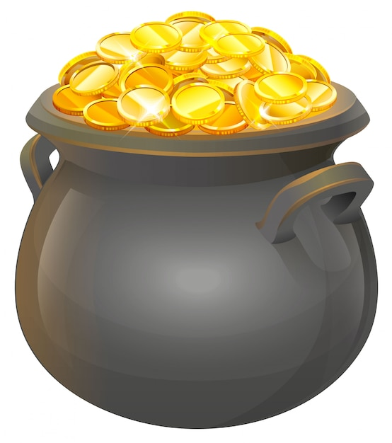 Topf Mit Gold