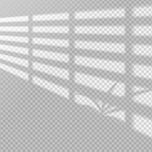 Transparenter schatten-overlay-effekt Kostenlosen Vektoren