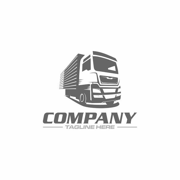 Truck-box-logo Premium Vektoren