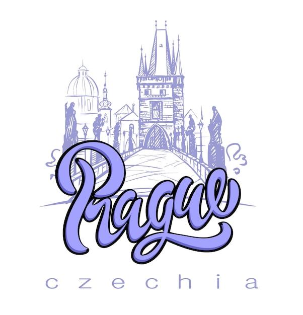 Tschechien Premium Vektoren