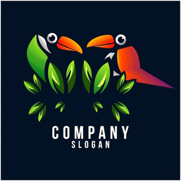 Tukan-logo-design Premium Vektoren