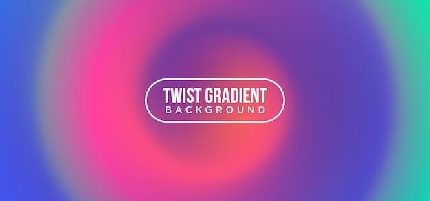 Twist gradient hintergrund Premium Vektoren