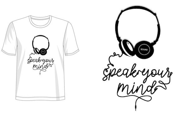 Typografie-design für print-t-shirt und mehr Premium Vektoren