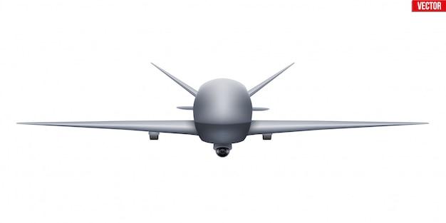 Uav drone unbemannter spion Premium Vektoren