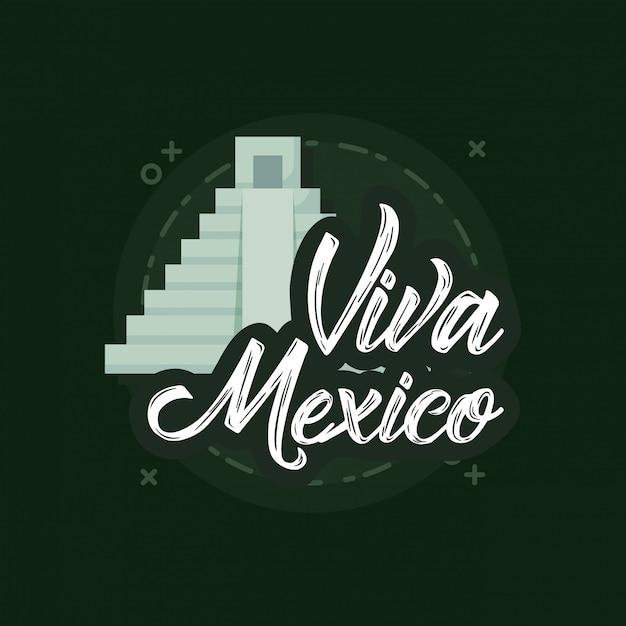 Über mexiko Premium Vektoren