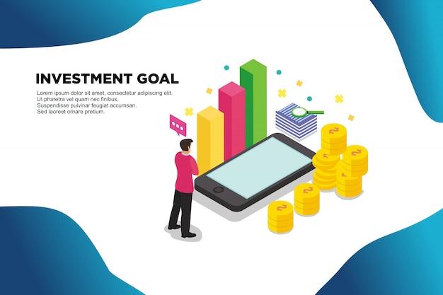 Umsatzanalyse Premium Vektoren