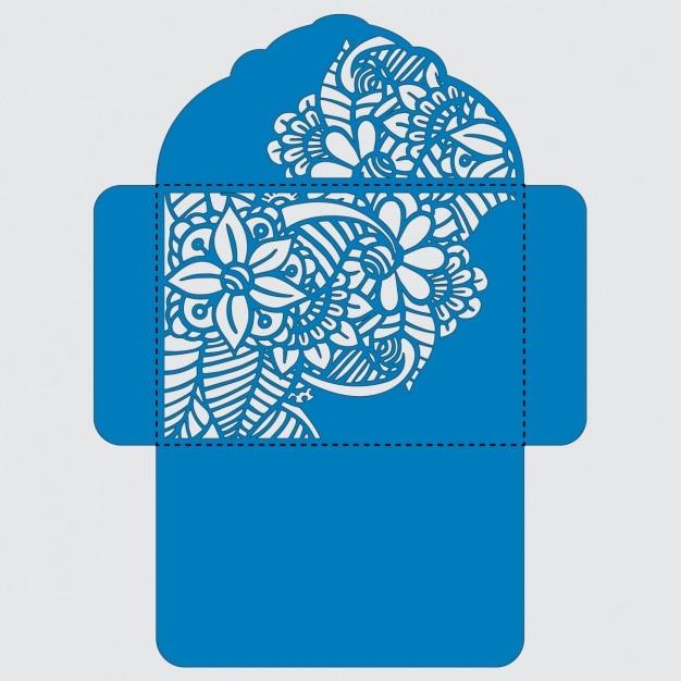 Umschlag template-design Kostenlosen Vektoren