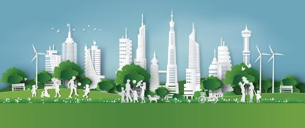 Umweltfreundlich Premium Vektoren