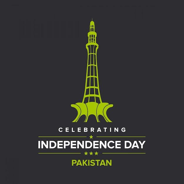 Unabhängigkeitstag von pakistan Premium Vektoren