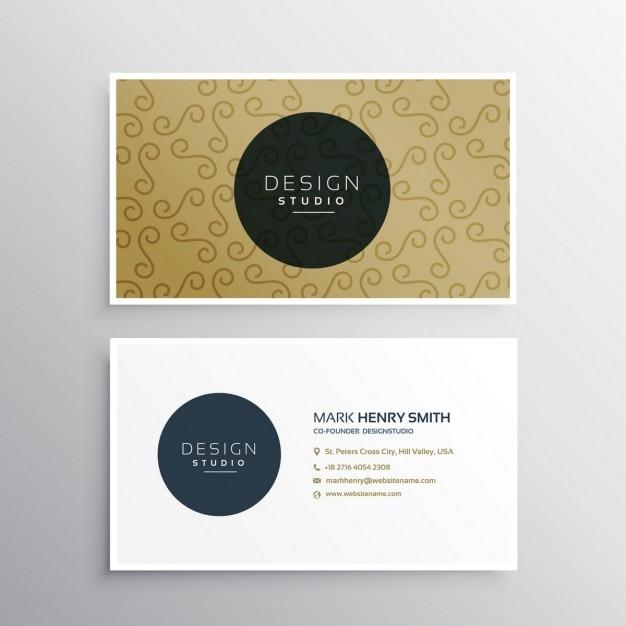 Unternehmen Visitenkarte Vorlage Präsentation | Download der ...