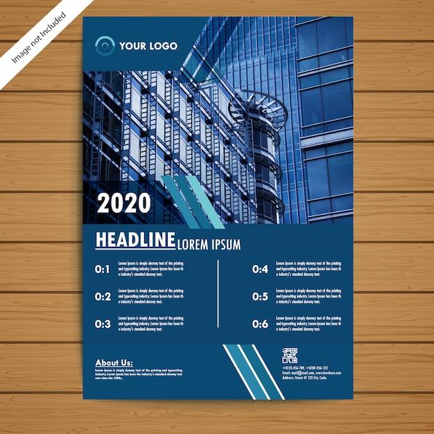 Unternehmensbroschüre / flyer vorlage Premium Vektoren
