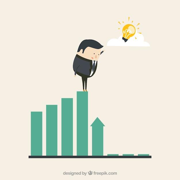 Unternehmensgewinne lösung Kostenlosen Vektoren