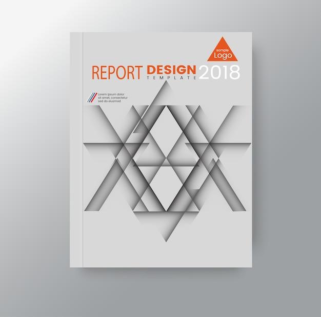 Unternehmenshintergrund des abstrakten geometrischen dreieckigen polygons Premium Vektoren