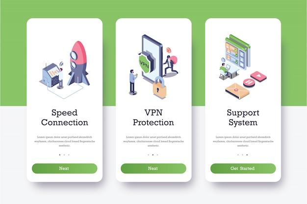 Unterstützungssystem onboard pages.ai Premium Vektoren