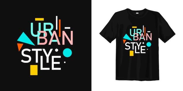 Urban style t-shirt Premium Vektoren