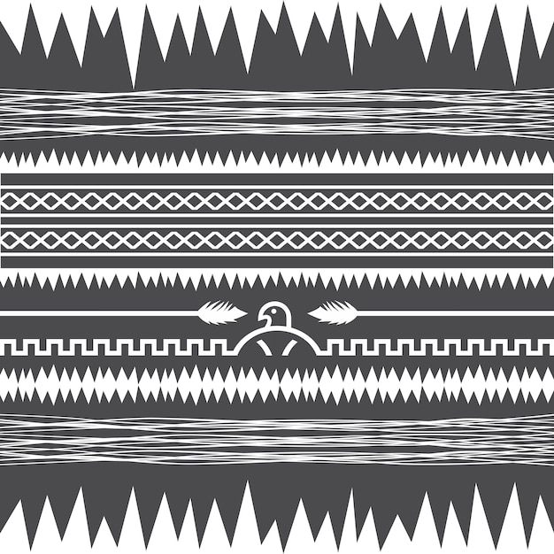 Ureinwohner-muster Premium Vektoren
