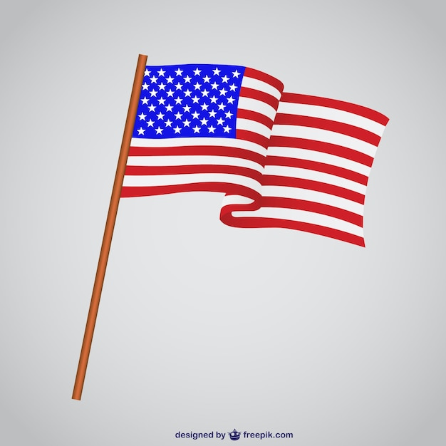USA-Flagge Vektor-Illustration | Download der kostenlosen Vektor