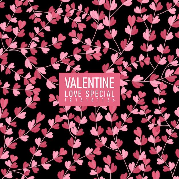 Valentin nahtlose muster Premium Vektoren