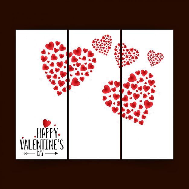 Valentine abstrakter hintergrund Kostenlosen Vektoren