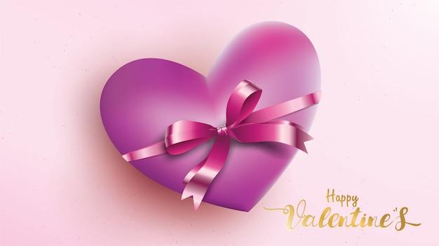 Valentines herz Premium Vektoren