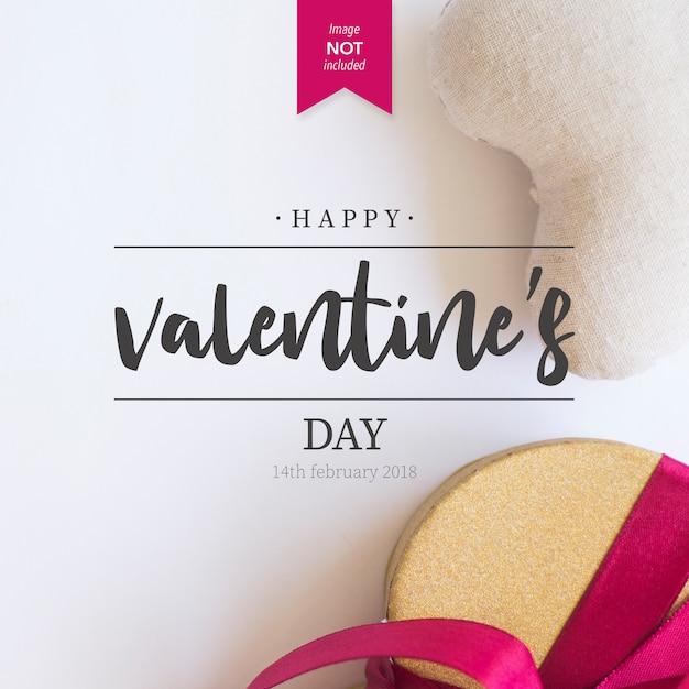 Valentinstag Grüße Premium Vektoren