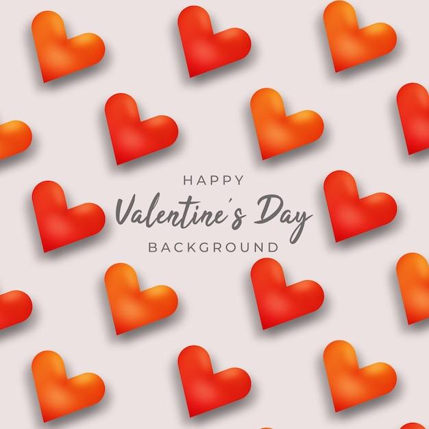 Valentinstag grußkarte Premium Vektoren